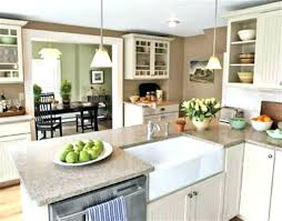 Open Floor Plan Kitchen Living Room And Dining Combo Large Size Of