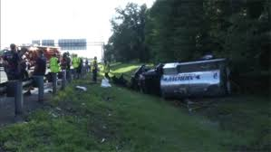 100 Tanker Truck Crash Driver Facing Charges In Tanker Truck Crash On I95 In Newport