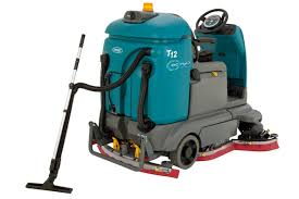 t12 compact battery powered rider scrubber tennant company