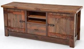 A Rustic Entertainment Center You Can Love