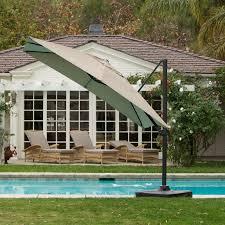 Patio Umbrellas Walmart Usa by Treasure Garden 10 Ft Obravia Cantilever Octagon Offset Patio