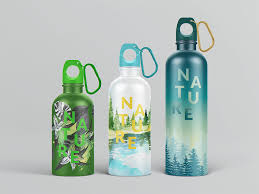 Reusable Water Bottle MockUp On Behance