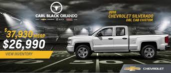 Carl Black Of Orlando | A Winter Springs & Seminole, FL Chevrolet ...