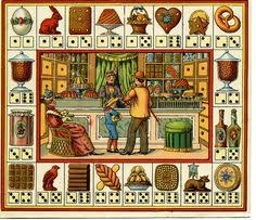 19th Century French Board Game To Miniaturize For The Antique Collection