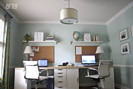 Small Desk Ideas Diy by Amazing 40 Double Desks Home Office Design Ideas Of Best 25