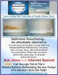 Bathtub Refinishing Atlanta Georgia by Atlanta Home Services Directory B