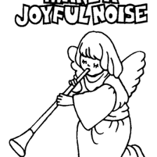 Bible Coloring Book Page 03