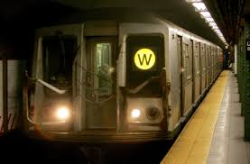 100 Subway Truck Parts W Train Returns Monday After Removed From Subway Tracks In 2010