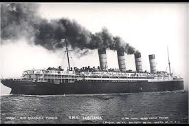 Bones Sinking Like Stones Meaning by Telegraph From The Lusitania Has Been Recovered From The Ocean