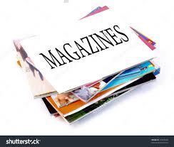 Magazine Stack Clipart