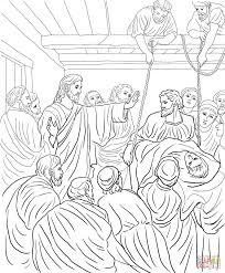 Jesus Heals Paralytic Man