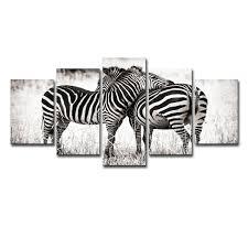 Baby Room Decor Animal Koala Giraffe Zebra Canvas Poster Nursery