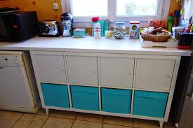 meuble cuisine diy diy un coin rangement pour la cuisine avec kallax initiales