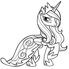 My Little Pony Equestria Girl Printable Coloring Pages Free Sheets