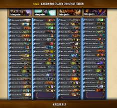 Control Priest Deck July 2017 by Complete Decklists From Kinguin For Charity