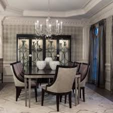 Formal Dining Room With Elegant Furnishings
