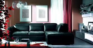 Red Grey And Black Living Room Ideas by Furniture Prepossessing Black Living Rooms Ideas Inspiration