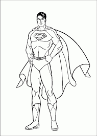 Printable Superman Coloring Pages Online 76698