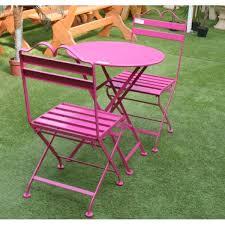 table jardin metal de cing et jardin