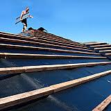 Bituminous Building Paper 1 Roofing Underlay 2