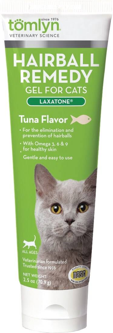 Laxatone Lubricant Prevention of Hairballs in Cats - Tuna Flavor, 4.25oz