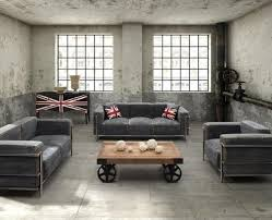 15 Stunning Industrial Living Room Designs