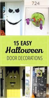 Scary Halloween Door Decorating Contest Ideas by Best 25 Halloween Door Decorations Ideas On Pinterest Halloween
