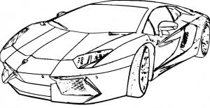 Lamborghini Coloring Pages For Kidsprintablecoloring