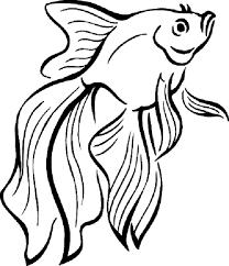 Wonderful Fish Coloring Page 6