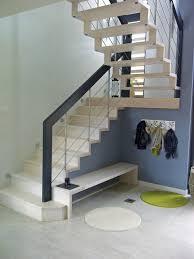 escalier 2 quart tournant avec palier contremarches au départ drome 26