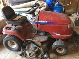 Craftsman Lt2000 Drive Belt Diagram by Sears Craftsman Lawn Tractor 48 Inch Mower Deck Youtube