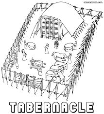 Coloring Download Tabernacle Pages Free To And Print
