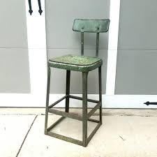 Rustic Metal Shop Stool, Vintage Industrial Stool, Shabby High Chair,  Outdoor Side Table 2pcs Silver Pu High Chair Set Peg Perego Siesta Ambiance High Chair With Eco Leatherwood Look Brown Padded Insert For The Simplex And Nino Cubic Caf Chairs Gun Metal Grey Banqueting Micuna Ovo City Luxe Brown Leatherette Harness Wooden Baby 3in1 Highchair Tray Amsco Dolls Circa 1950s Antiques Jack Lowhigh Child High Chair Restaurant Cafeteria Community Camping Vintage J Chein Doll Sunset Bar