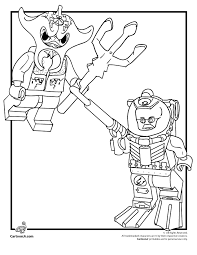 Free Coloring Pages Lego Letscoloringpages Ninjago Strange
