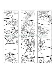 Colouring Pages Of Koi Fish