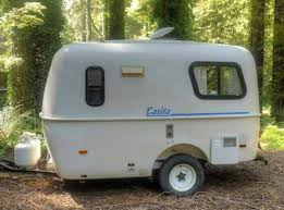 The Casita Weighs About 1700 Lbs With 150 On Tang Making This Trailer Towable By Most Cars Good Condition Some Rust Frame