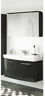 lomado badezimmer waschtisch spiegelschrank set in