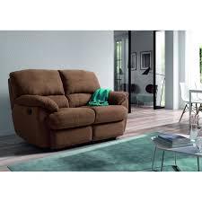canapé limoges limoges canapé droit de relaxation 2 places 160x100x100 cm tissu