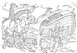 12 Pics Of Noah39s Ark Storybook Coloring Pages Free Noah In The Amazing And Interesting