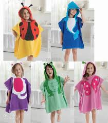 2018 Cute Baby Bathrobe Anmial Style Ladybug Kids Bathing Bath Robe Swimming Lw12060cm From Melee 4536
