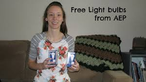 how to get free light bulbs from aep saving money on electricity