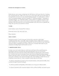 Management Objectives For Resume Ideas Collection In
