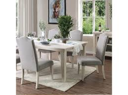 Daniella Transitional Dining Table With 18