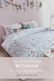 bettwäsche weiß mit blumen 100 baumwolle room makeover