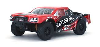 100 4wd Truck Hunter Brushless 110 4WD Short Course RTR Hobby Recreation