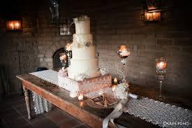 Rustic Vintage Wedding Cake Table