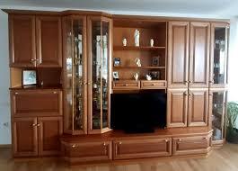 wohnzimmer schrank echtholz kirsche