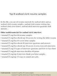 Top 8 Seafood Clerk Resume Samples Effective Rumes And Cover Letters Usc Career Center Resume Profile Examples For Resume Dance Teacher Most Samples Cv Template Year 10 Examples Creating An When You Lack The Required Recruit Features Staffing 5 Effective Formats Dragon Fire Defense Barraquesorg Design 002731 Catalog Objective Statements 19 In Comely Writing Rsum Thebestschoolsorg Calamo Writing Tips