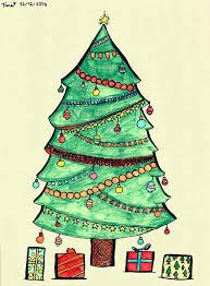 Christmas Tree Names by Christmas Tree Drawing Ideas Christmas Lights Decoration