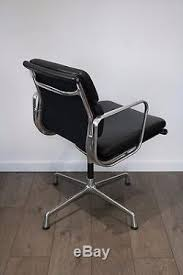 Sparco Office Chair Uk by Uk Delivery Vitra Eames Ea208 Soft Pad Chairs Leather Polished